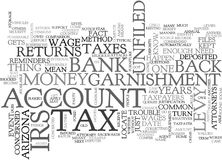 Arizona Tax Attorney Word Cloud Royalty Free Stock Photos