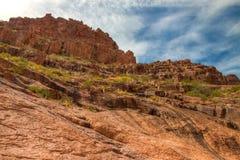 Arizona--Traînée Région-perdue d'aspiration de Parc-siphon d'état de Néerlandais de montagne de superstition, photos libres de droits