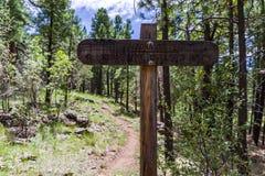 Arizona Trail: Anderson Mesa AZT-30 stock image