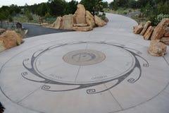 Arizona tubylczy projekt w parku zdjęcia stock