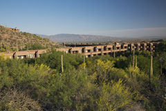 Arizona, Tucson, USA, April 10 2015, Loews Ventana Canyon, Flying V Bar and Grill Royalty Free Stock Images