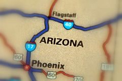 Arizona, United States U.S. Arizona, a state in the United States U.S Royalty Free Stock Photos