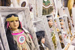 ARIZONA, USA - MAY 2013, traditional mexican dolls Stock Image