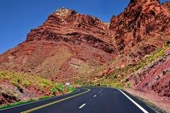 Arizona väg Arkivfoto