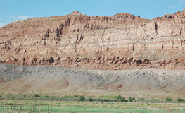 Arizona vägrengeologi Royaltyfria Bilder