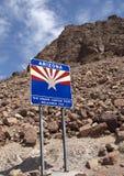 Arizona välkomnar dig arkivbild