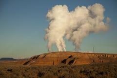 Arizona-Verschmutzung Stockfoto