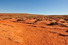 Arizona-Wüstenlandschaft Lizenzfreies Stockbild