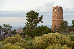 Arizona Watch Tower Royalty Free Stock Photography