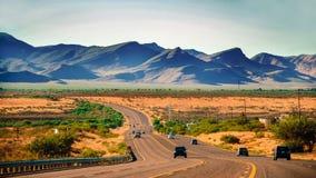 Arizona. On the way from Sierra vista to Tucson in Arizona, USA Stock Photo