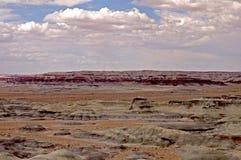 Arizona wenig gemalte Wüste Stockbilder