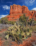 Arizona winter. A brisk January morning in Sedona, Arizona Stock Photo