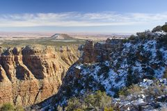 Arizona Winter in Grand Canyon Stock Images