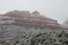 Arizona Winter Landscape Royalty Free Stock Photos