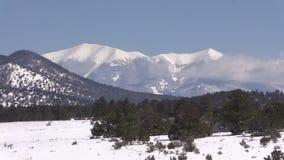Arizona Winter Landscape Zoom In stock video footage