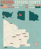 Arizona: Yavapai okręg administracyjny Zdjęcia Stock