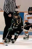 Youth Ice Hockey. Arizona youth ice hockey league with both girls and boys play in game action located in Gilbert Arizona in the Southwest part of the United stock images