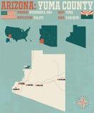 Arizona: Yuma okręg administracyjny Obrazy Stock