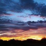 Arizona zmierzch zdjęcie royalty free