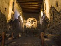 Arizonas alte Kirche Stockfotografie