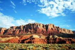 Arizonas Vermilion Klippen lizenzfreies stockbild