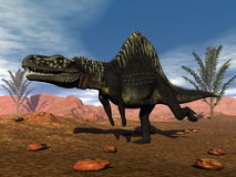 Arizonasaurus dinosaur - 3D render Stock Images