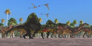 Arizonasaurus Dinosaurs Royalty Free Stock Image