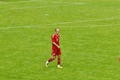 Arjen Robben da Baviera Monaco di Baviera Fotografie Stock