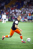 Arjen Robben of Netherlands Royalty Free Stock Image