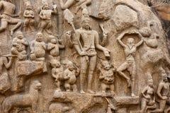 Arjuna's Penance stock photography