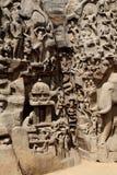 Arjuna's Penance, Mahabalipuram Stock Images