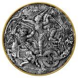 Arjuna y Hanuman Fotografía de archivo
