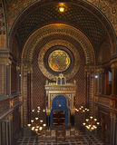 Ark ancient synagogue in Prague. Royalty Free Stock Photo
