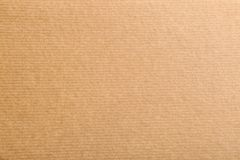Ark av kraft papper som bakgrund, bästa sikt arkivbild