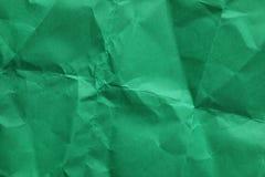 Ark av skrynkligt papper för färg som bakgrund fotografering för bildbyråer