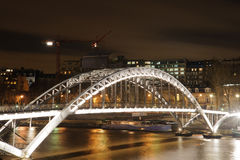 Ark bridge in Paris Stock Image