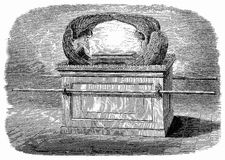 Ark of the Covenant Royalty Free Stock Photo