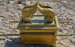 The Ark of the Covenant. In Gilgal, Israel Royalty Free Stock Images