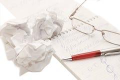 ark för ögonexponeringsglaspenna Fotografering för Bildbyråer