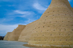 Ark Fortress in Bukhara Stock Image