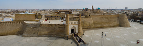 Ark Fortress in Bukhara Royalty Free Stock Image