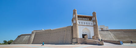 The Ark fortress of Bukhara, in Uzbekistan Royalty Free Stock Photography