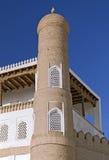 Ark fortress gate in Bukhara, Uzbekistan royalty free stock image