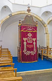 The Ark of the Middle Synagogue Stock Image