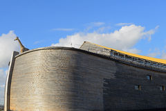 The ark of noah in dordrecht netherlands. Noah's ark in real size build in the netherlands Royalty Free Stock Photography