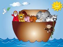 ark noahs royalty ilustracja