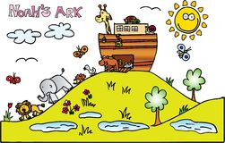ark noahs Obraz Stock