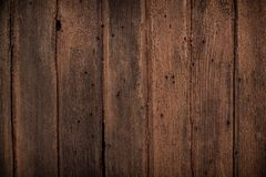 Ark old wooden table texture background,Natural detailed plank photo texture. Texture in warm red and dark brown tones. Old wooden vintage  background closeup Stock Photography