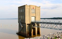 Arkabutla Dam Pumping Station, Robinsonville Mississippi Royalty Free Stock Photography