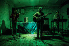 Arkada Kots, Kijowski garażu koncert 12.04.2014 Obraz Royalty Free